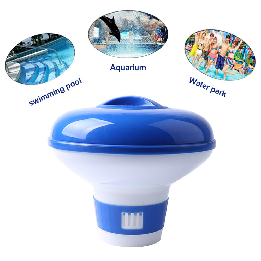 Swimming Pool Floating Pill Swimming Pool Automatic Disinfection Medicine Automatic Applicator 5 Inch Pool Accessories