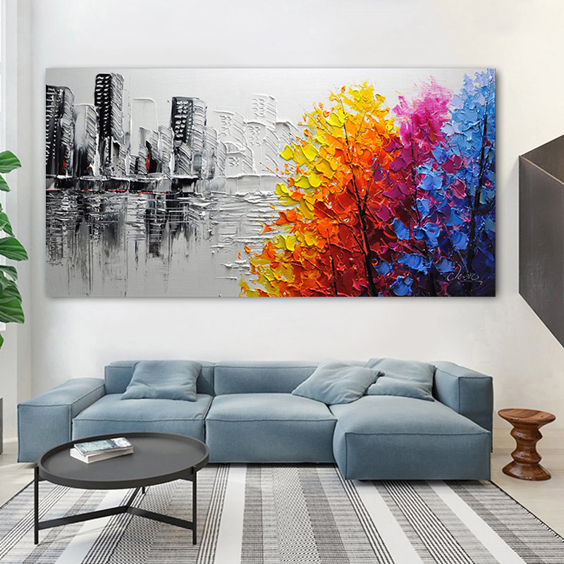 GATYZTORY Frame Abstract Picture DIY Painting By Numbers Acrylic Paint On Canvas Handpainted Oil Painitng For Living Room Arts