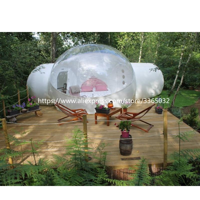 double room bubble tent
