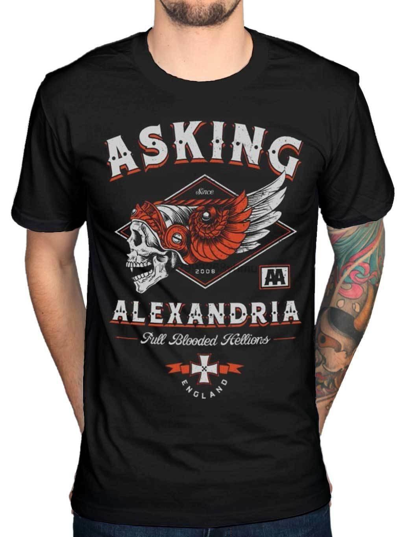 Retail Pack Asking Alexandria Mens T-Shirt Danger