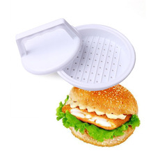 Mold Hamburger-Maker Chef-Cutlets Beef-Grill Meat Round-Shape White Non-Stick