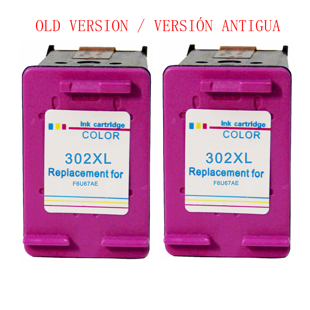 Compatible 302XL <font><b>ink</b></font> cartridge Tri-color for <font><b>HP</b></font> 302 XL For <font><b>HP</b></font> <font><b>Deskjet</b></font> <font><b>2130</b></font> 2135 1110 3630 3632 Officejet 3830 3834 4650 <font><b>Printers</b></font> image