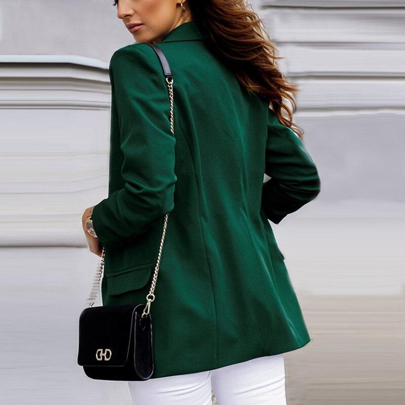 Women Jacket Women Clothing Female Suit Woman In Suit Jacket Jackets And Blazers Autumn Wear Temperament Women
