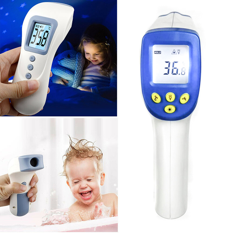 Non-contact Fever Lcd Digital Thermometer Portable Handheld Infrared Body Thermometer With LCD Backlight Measurement Baby Care