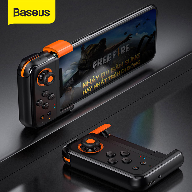 Baseus Gamepad Pubg For Mobile Phone Wireless Bluetooth Game Controlloer Trigger Programmable Keys For IPhone Android Game Pad