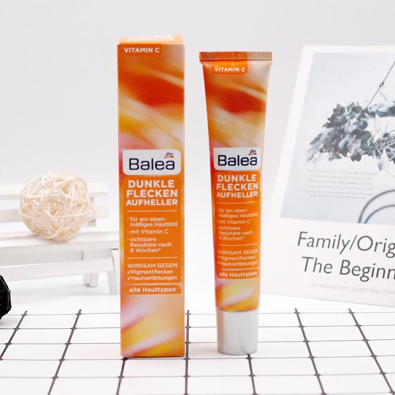Germany Balea Dark Spots Brightener Vitamin C Cream Beautiful Face