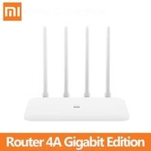 Роутер Xiaomi 4A Gigabit Edition, 100 м, 1000 м, 2,4 ГГц, 5 ГГц, Wi Fi, ПЗУ 16 Мб, DDR3 64 МБ, 128 Мб, 1167 Мбит/с, Поддержка удаленного управления через приложение