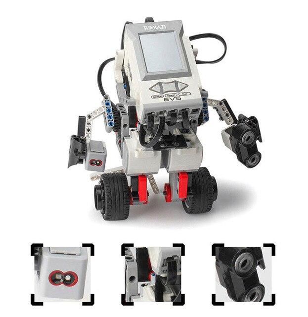 EV3มอเตอร์ใช้งานร่วมกับEV6 31313 45544วิทยาศาสตร์การศึกษาอาคารบล็อกหุ่นยนต์สร้างสรรค์การเขียนโปรแกรมอัจฉริยะโปรแกรมApp