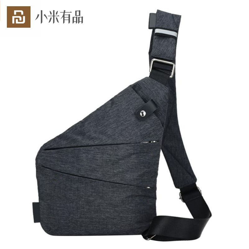 2020 New Fash Ergonomic Anti-theft Chest Pocket Bag Youth Slim Design For Outdoor Activities and Daily Use Left  amp  Right Shoulder