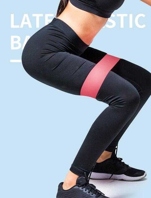 5PCS Yoga Faixas da Resistência Alongamento Loop De Borracha Exercício Equipamentos De Ginástica Pilates Corpo de Treinamento de Força Treinamento de Força