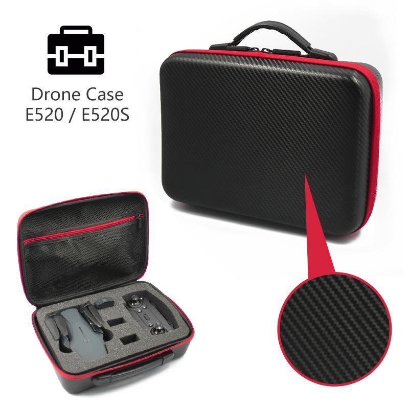 RCtown E520 Tavel Handbag Storage Bag Carrying Case Waterproof Portable Box RC Drone Quadcopter Spare Parts