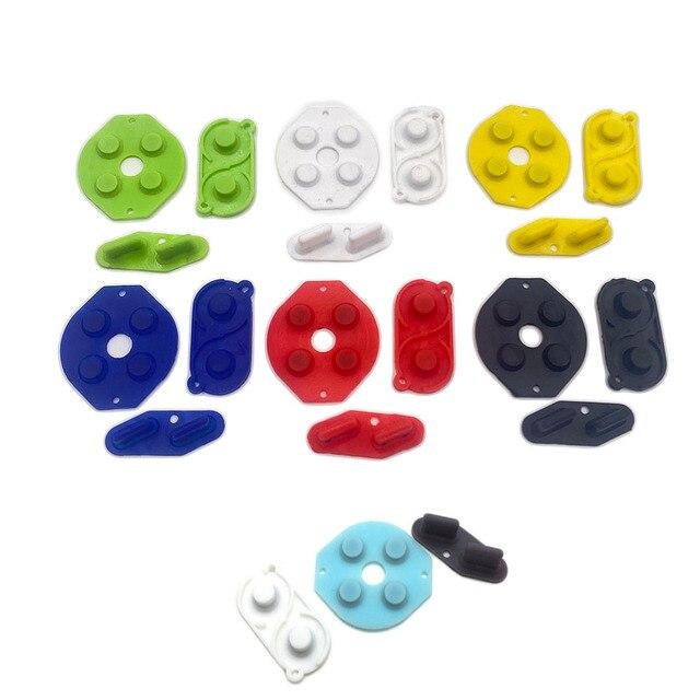 70 ensembles pour Nintendo jeu garçon Original DMG 01 nouveau caoutchouc conducteur/Silicone boutons