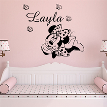 Amusing Mickey Mouse Wall Art Decal Wall Stickers Pvc Material Living Room Children Room Mural Poster new tom cat jerry mouse wall art decal pvc material stickers wall decals for kids room vinyl wall sticker mural wallpaper