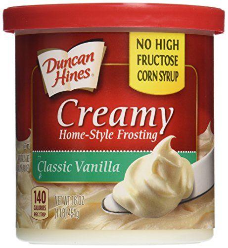 Duncan Hines Frosting Vanilla 453gr
