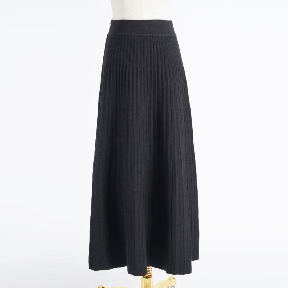 Купить с кэшбэком 2020 Muslim Skirts Polyester Turkish Long Skirt Women Islamic Ladies Closhing Abaya Dubai Solid Femme Streetwear Maxi Skirts