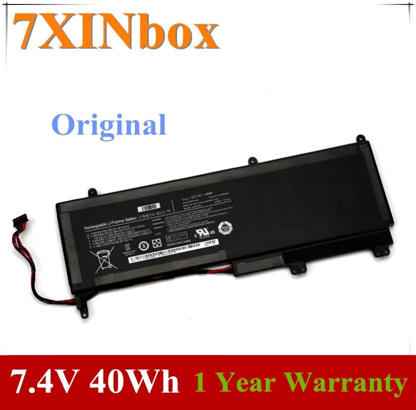 7XINbox 7,4 V 40Wh AA-PBZN4NP 1588-3366 BA43-00317A batería del ordenador portátil para SAMSUNG 7 pizarra XE700T1A XQ700T1A XE700T1C XQ700T1C