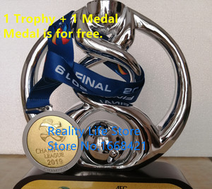 Asia champions trophy / medal football club champions medal award Soccer Souvenirs decoration gift