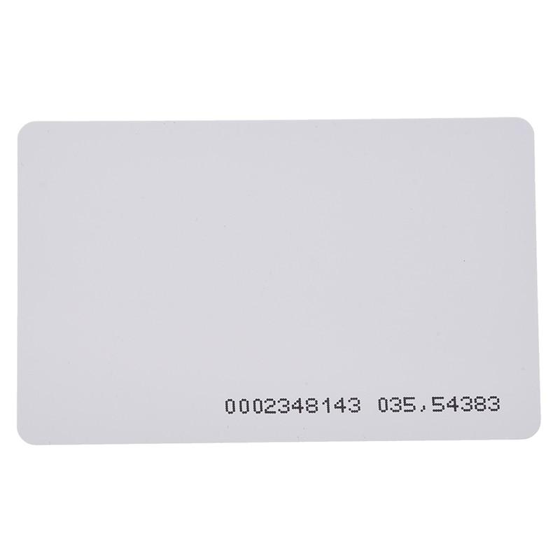 125Khz Door Entry Access Proximity RFID Card Wht 10 Pcs