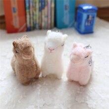 цена на Hot New Cute Alpaca Plush Toys High Quality Soft Plush Mini Alpaca Dolls Stuffed Animal Toy Birthday Gift for Children