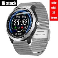 Ship With 24 Hours 2020 NEW ECG+PPG Smart Watch Men IP67 Wat