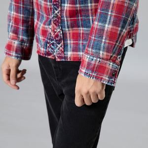 Image 4 - SIMWOOD 2020 Autumn winter new plaid shirts men casual check double pocket high quality 100% cotton shirt  190459