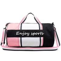 Gym Bag Women Fitness Sport Bag Men For Gym Tas Dry Wet Bag Handbag Yoga Mat Shoulder Waterproof Shoulder Crossbody Sport Bag