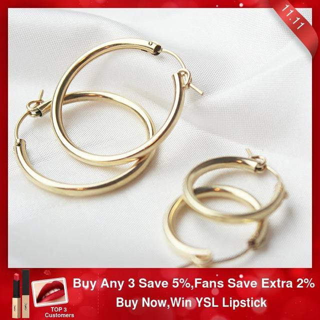 Boucles doreilles en or pour femmes, bijoux modernes, bijoux minimalistes, style Boho, cadeau, Vintage