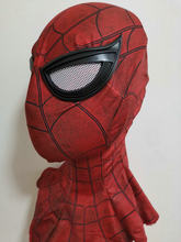 19 Cosplay l'incroyable Spider-Man 2 Spider casque spiderman retour Spider-Man visage enfer avec lentilles Spiderman masque visage(China)