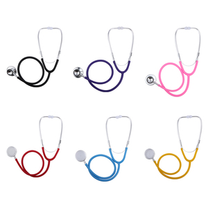 Image 4 - Professional Stethoscope Aid Dual Headed Stethoscope Portable Medical For Doctor Auscultation Device Equipment Tools Dropship