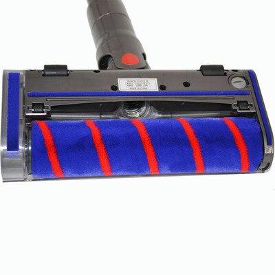1pcs Soft velvet electric floor carpet tile tip Suitable for Dyson DC59 DC62 V6 V7 V8|Vacuum Cleaner Parts| |  - title=
