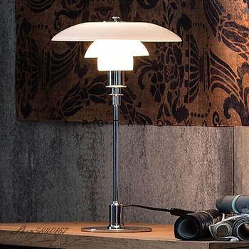 Mosiężna lampa stołowa nowoczesny luksusowy obok lampy salon Home Decor lampy do sypialni chrom czarny złota baza metalowa lampa stołowa tanie i dobre opinie XunShiNi CN (pochodzenie) Srebrny Wiszący 623133 Szkło iron Wtyczka UE 90-260 v Pokrętło Żarówki LED Europejska Polerowana stal