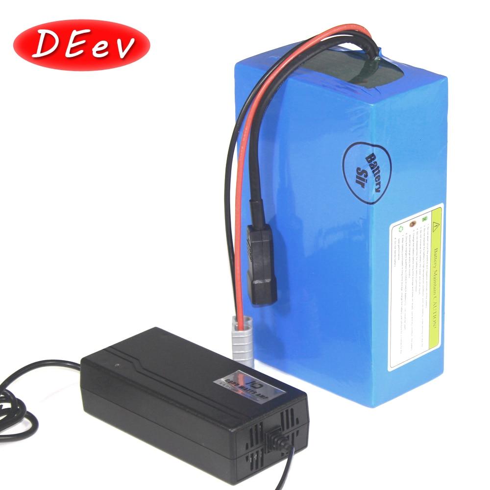 Batería de litio para bicicleta eléctrica, accesorio de ciclismo de 40Ah 60Ah 20Ah 30Ah, opción scooter 72V 3000W 5000W