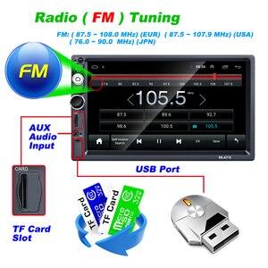 Image 4 - Hikity Universale 2din Andriod 8.1Car Lettore Multimediale di Navigazione GPS Per Auto Bluetooth Audio Wifi USB Specchio Link HD Car Audio