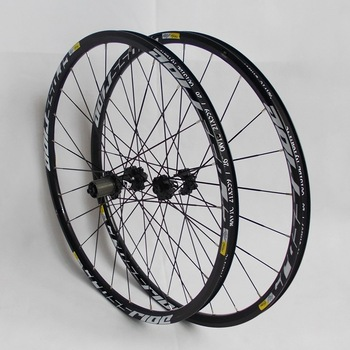 MTB mountain bike wheelset CNC aluminum alloy rolling bearing central lock six holes 26 27.5 29er Bicycle wheel set
