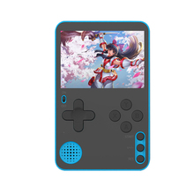 RS-60 Portable Handheld Game Console Ultra Thin Game Player Built-in 500 Classic Games Slim Game Player Retro Video Game Console
