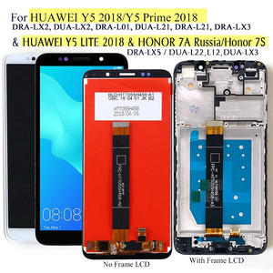 "Image 1 - สำหรับHuawei Y5 2018 & Y5 Lite DRA LX2/LX3/LX5จอแสดงผลLcdหน้าจอสัมผัสสำหรับHonor 7Aรัสเซีย7S DUA L22 & LX3 5.45"""