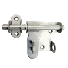 Staple Safety Hasp Hardware Anti-theft Door Latch Trumpet Home Durable Slide Bolt Stainless Steel Lock Practical Gate