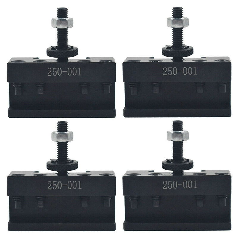 4PC SETS 250-001 0XA Quick Change Tool, Turning Tool Holder Steel Material HOLDER