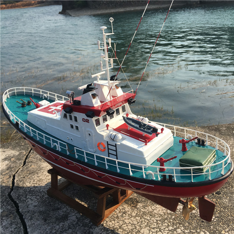 1: 30 Emile Robin Coastal Rescue Ship Model Nesting Simulation Dynamic Remote Control Children's Birthday Gift