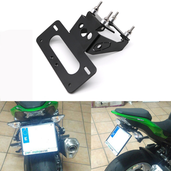For Kawasaki Z900 2017-2020 Motorcycle Rear Tail Tidy Registration Plate Holder Fender Eliminator kit Number License Plate недорого