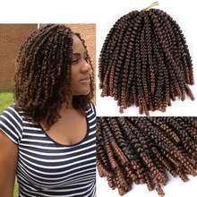 Удлинители волос dairess 8 дюймов с пушистыми пружинными Закрученными