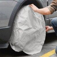 Protetor de pneus cobre proteção dever acessórios roda capa protetora à prova dwaterproof água universal