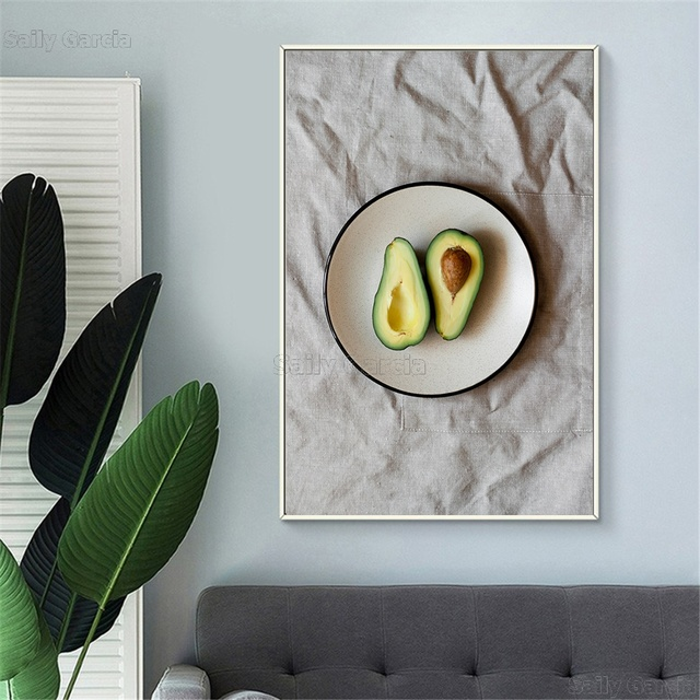 Avocado Wall Artwork Poster