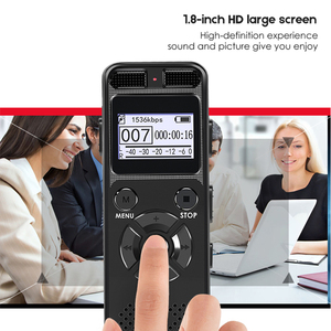 Image 5 - VR520 Secret Digital Audio Voice Recorder 8GB 16GB Professional Portable Recorder MP3 For Business Support Up to 64G TF Card