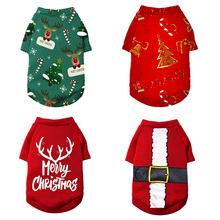 Christmas Dog Clothes Winter Warm Pet Dog Jacket Coat Puppy Clothing Hoodies For Small Medium Dogs Puppy Yorkshire Outfit XS-2XL