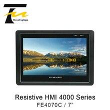 FLEXEM rezystancyjny interfejs HMI 4000 serii FE4070C człowieka 7 cali 16:9 TFT LCD