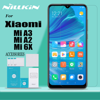 Nillkin for Xiaomi Mi A3 A2 6X Tempered Glass Screen Protector 9H Hard Clear Safety Protective Glass for Xiaomi Mi A3 A2 6X Film