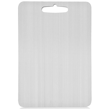 304 Stainless Steel Kitchen Cutting Board Ultra-Thin Stainless Steel Cutting Board Multi-Purpose Cutting Board Suitable for Vege