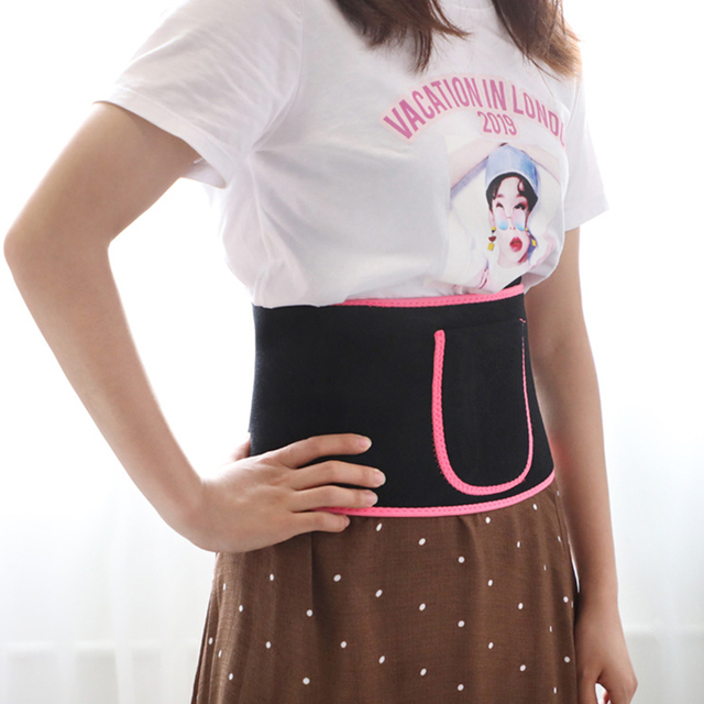 Weight Loss Body Slimming Belt Waist Support Trimmer Multifunctional Tummy Neoprene Exercise Belly Adjustable Sweat Wrap Elstiac 3