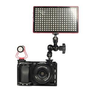 Image 5 - SETTO A6400 Camera Kooi voor Sony Alpha A6400 Camera Functie met 1/4 3/8 Schroefdraad Gaten voor Vlog DIY Video